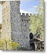 Castle In Spring Metal Print