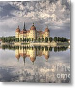 Castle In The Air Metal Print