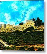 Castle In The Hot Summer Sun Metal Print