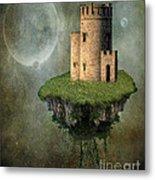 Castle In The Sky Metal Print by Juli Scalzi