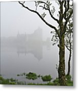 Castle Kilchurn Tree Metal Print