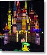 Castle Lantern Metal Print