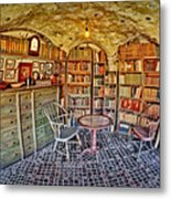 Castle Map Room Metal Print by Susan Candelario