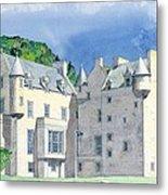 Castle Menzies Metal Print
