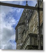 Castle Menzies From The Window Metal Print