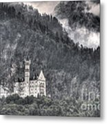 Castle Neuschwanstein  Metal Print