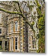 Castle Of Scottish Highlands Metal Print