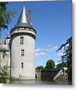 Castle Sully Sur Loire - France Metal Print