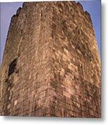 Castle Tower Metal Print