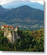 Castle View Metal Print