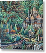 Castles Metal Print