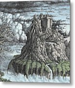 Castles Made Of Sand Ll Metal Print