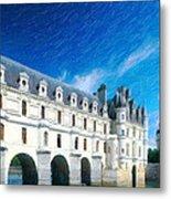 Castles Of France Metal Print