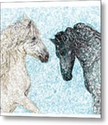 Castor And Pollux Metal Print