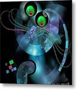 Cat 007-13 Marucii Metal Print