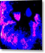 Cat Abstract Metal Print