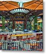 Catal Outdoor Cafe Downtown Disneyland 01 Metal Print