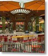 Catal Outdoor Cafe Downtown Disneyland 02 Metal Print