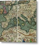 Catalan Atlas Metal Print