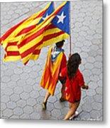 Catalan National Day 2014 Metal Print