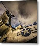 Catalina Pby-5a Miss Pick Up Low Angle Metal Print