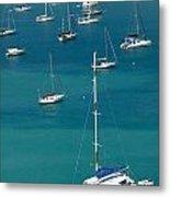 Catamaran  St Thomas Usvi Metal Print