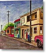 Catano Puerto Rico Street Metal Print