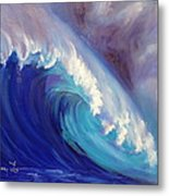 Catch Another Wave Metal Print