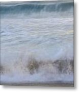 Catch The Waves Metal Print