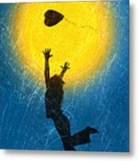 Catching A Heart Metal Print by Tim Gainey