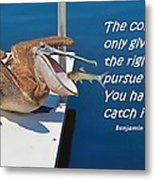 Catching Happiness Metal Print