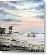 Catching The Sunrise - Hagens Cove Metal Print