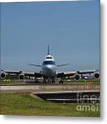 Cathay Pacific Boeing 747 Metal Print