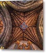 Cathedral Ceiling Metal Print