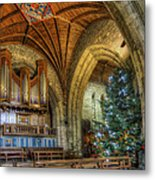 Cathedral Christmas Metal Print