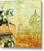Cathedral De Berlin Metal Print by Catf