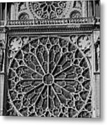 Cathedral De Notre Dame Metal Print