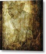 Cathedral Gargoyle Metal Print