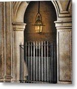 Cathedral Gate Metal Print by Brenda Bryant
