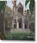 Cathedral In A Jungle Metal Print
