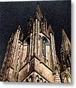 Cathedral In The Sky Metal Print