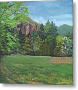 Cathedral Ledge From Westside Road Metal Print
