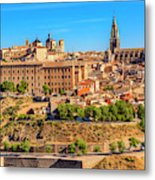 Cathedral, Medieval City, Toledo, Spain Metal Print