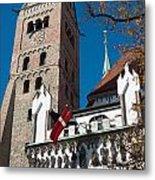 Cathedral Of Augsburg Metal Print