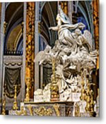 Cathedral Of Chartres Altar Metal Print