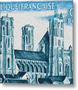 Cathedral Of Laon Metal Print