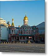 Cathedral Of Our Lady Of Kazan - Square Metal Print by Alexander Senin