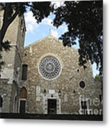Cathedral Of San Giusto Metal Print