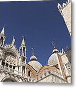 Cathedral Of San Marco  Metal Print