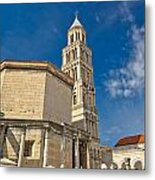 Cathedral Of Split Diocletian Palace Metal Print